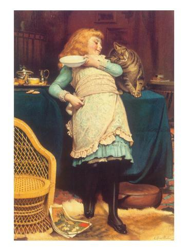 Coaxing Is Better Than Teasing, 1883 Giclee Print