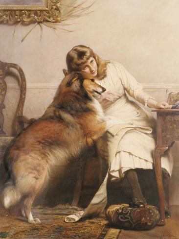 Sweethearts, 1890 Lámina giclée