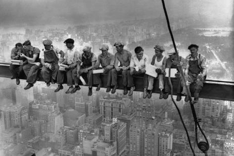 Lunch Atop a Skyscraper, c.1932 Poster