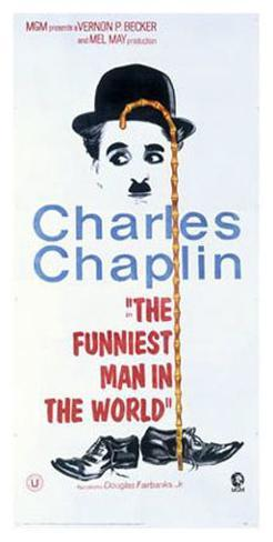 Charles Chaplin, The Funniest Man in the World Giclee Print