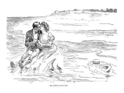 Gibson: Turning Tide, 1901 Stampa giclée
