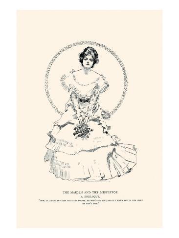 The Maiden And the Mistletoe Lámina