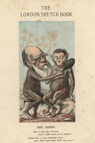 Charles Darwin, English Naturalist, 1874 Giclee Print