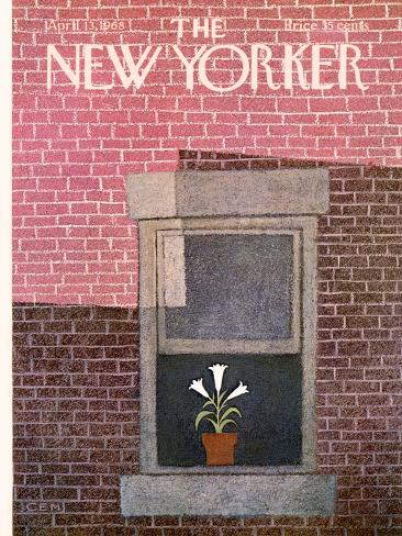 The New Yorker Cover - April 13, 1968 Stampa giclée premium