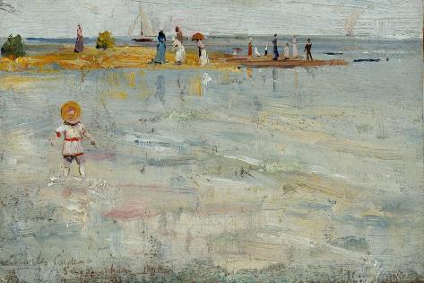 Ricketts Point, Beaumarais, 1890 Giclee Print