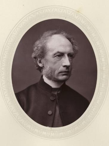 Charles Ellicott, English Theologian and Bishop of Gloucester and Bristol Stampa fotografica
