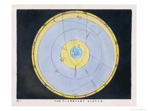 The Planetary System Giclee Print