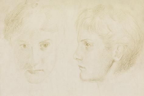 Edward Robert Hughes, Aged 16, 1867 Giclee Print