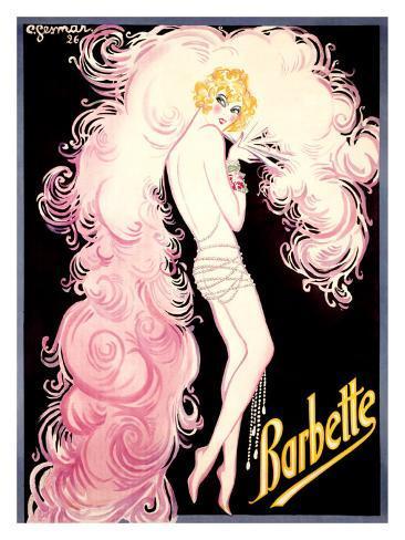 Barbette Giclee Print