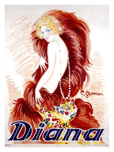 Diana Giclee Print