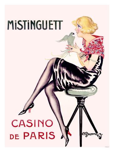 Mistinguett, Casino de Paris Giclee Print