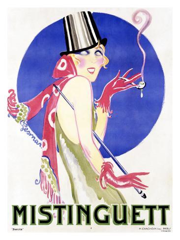 Mistinguett Giclee Print
