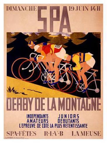 Derby de la Montagne Giclee Print