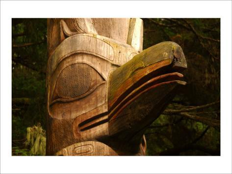 Great Northwest Eagle Spirit Totem Giclee Print