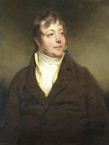 Portrait of a Man, Perhaps J.W. Beynen Art Print