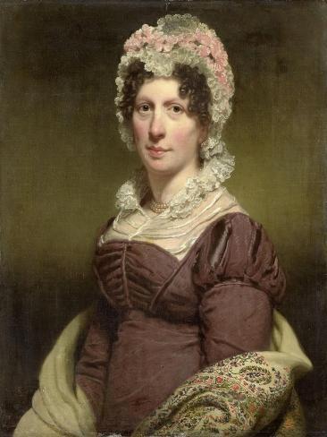 Portrait of a Woman Premium Giclee Print