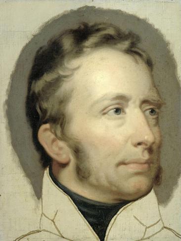 Portrait of William I, King of the Netherlands Art Print