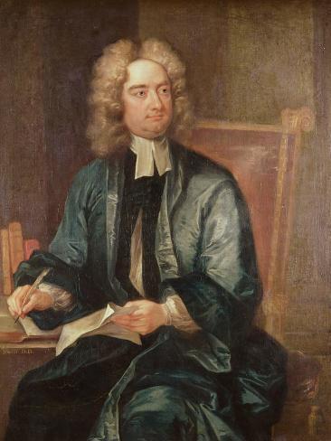 Portrait of Jonathan Swift Giclee Print
