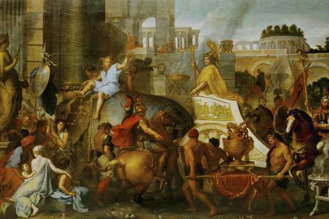 Alexander the Great Enters Babylon Giclee Print