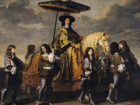 The Chancellor Seguier (1588-1672) Giclee Print