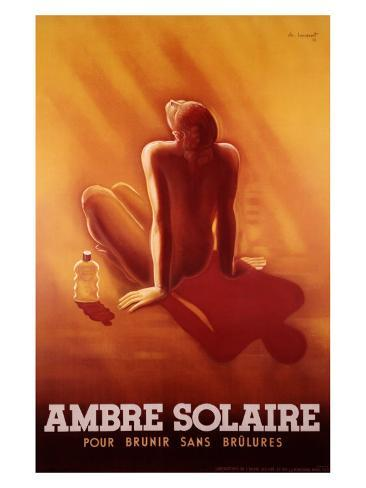 Ambre Solaire Giclee Print