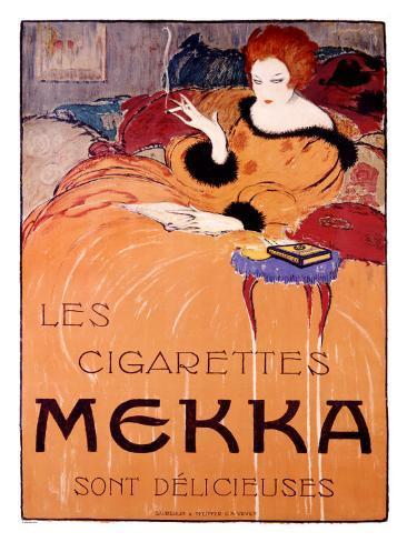 Cigarettes Mekka Giclee Print