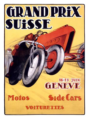 Grand Prix Swiss Giclee Print