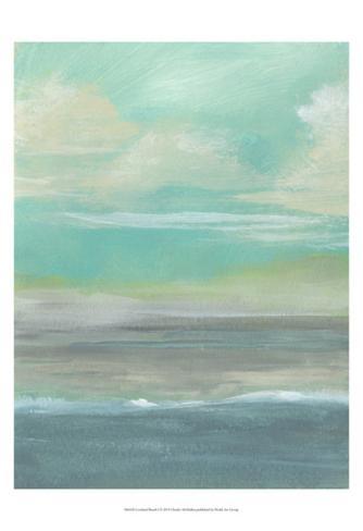 Lowland Beach I Art Print
