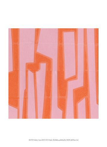 Modern Circuit III Art Print