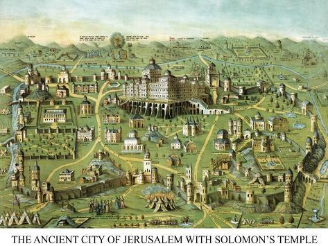 Symbols -Solomon's Temple Wall Decal