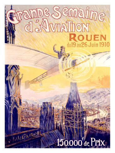 Grande Semaine d'Aviation Giclee Print