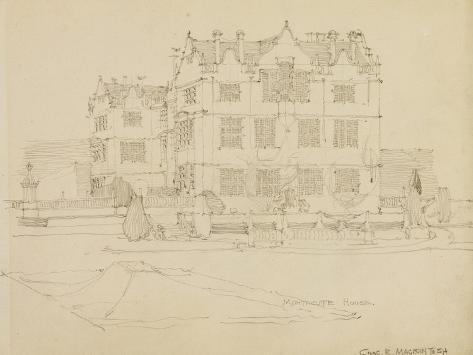 Somerset, Montacute House, 1895 Giclee Print
