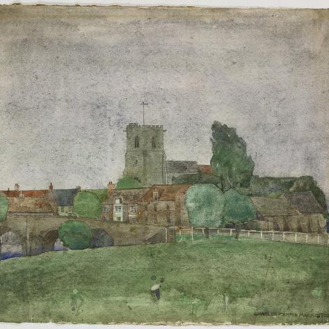 Wareham, Dorset, 1895 Giclee Print