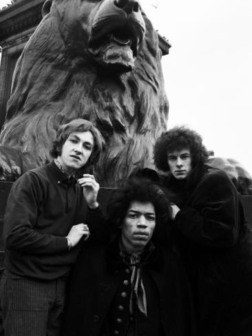 Jimi Hendrix -1968 Photographic Print