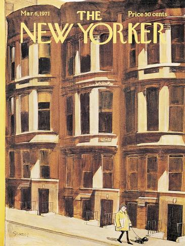 The New Yorker Cover - March 6, 1971 Premium Giclee Print