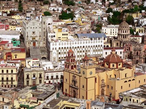 Basilica de Nuestra Senora de Guanajuato, Guadalajara, Mexico Photographic Print