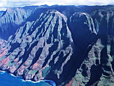 Na Pali Coast, Kauai, Hawaii, USA Photographic Print