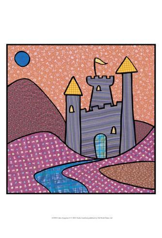 Calico Kingdom II Art Print