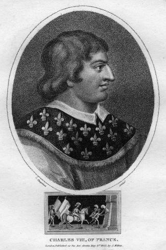 Charles VIII, King of France Giclee Print