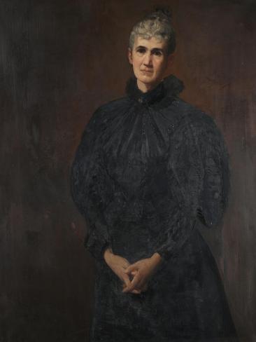 Margaret Collier Graham, 1896 Giclee Print