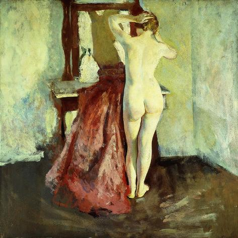 Nude before Mirror Giclee Print