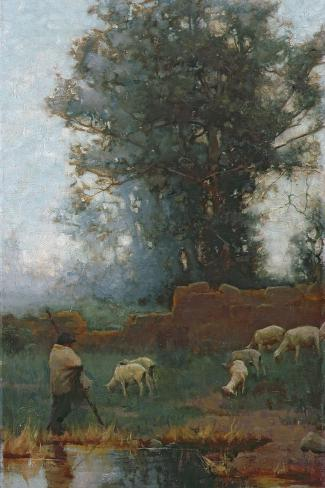 The Shepherd Giclee Print