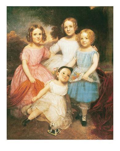 Adrian Baucker Holmes Children Art Print