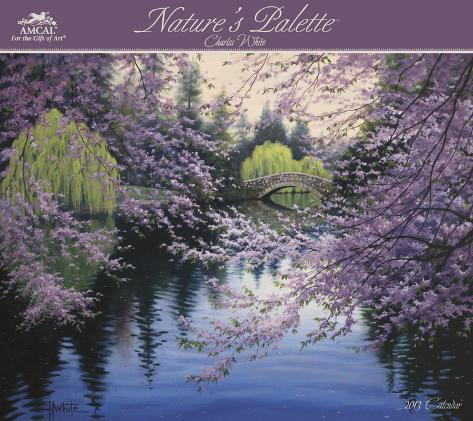 Charles White - Nature's Palette (TM) - 2013 Wall Calendar With Envelope Calendars