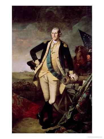 George Washington at Princeton Giclee Print