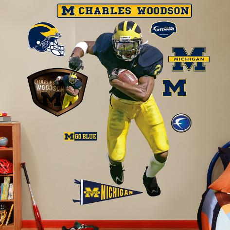 Charles Woodson Michigan Wall Decal