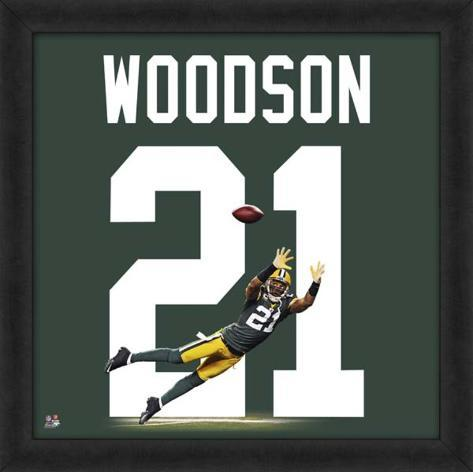 Charles woodson packers representation of the player 39 s jersey framed memorabilia at - Charles woodson packers wallpaper ...