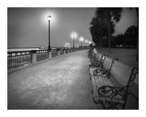 Charleston I Art Print