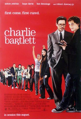 Charlie Bartlett Double-sided poster