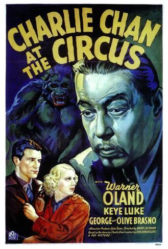 Charlie Chan At The Circus Poster
